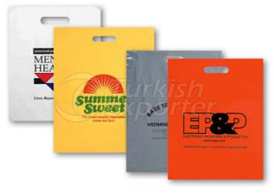 Cut Out -Pacth Handle Carrier Bags