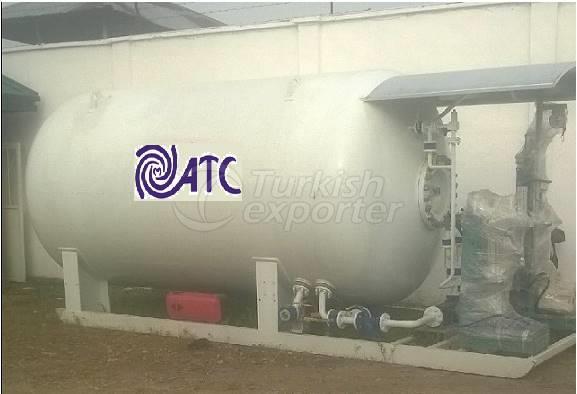 LPG Tube Filling System Proses