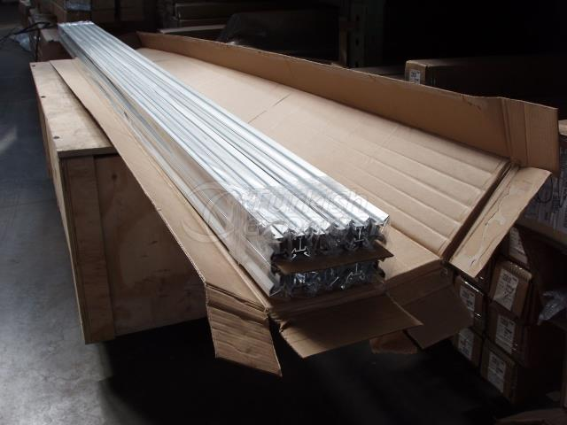 PACKAGING OF ALUMINIUM PROFILES