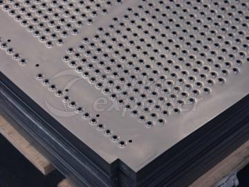 PUNCHING EXTRUDED ALUMINIUM PROFILES