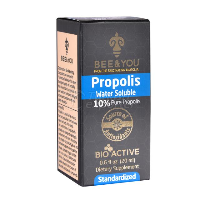 Propolis Water Soluble Package