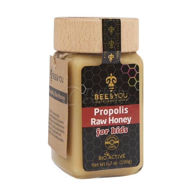 Propolis Raw Honey Kids 190gr