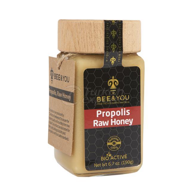 Propolis Raw Honey 190gr