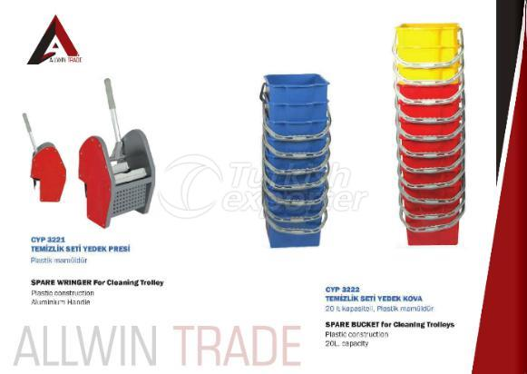 Spare Wringer and Buckets