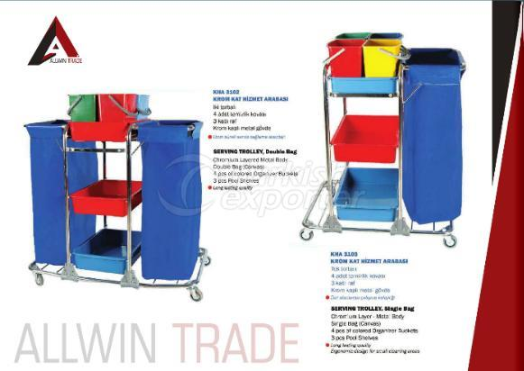 Serving Trolley with Bag
