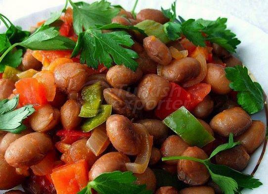 Cold White Beans Vinaigrette