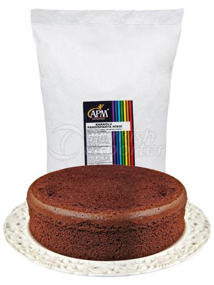 Cocoa Sponge Cake Mixer APM