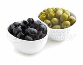Black - Green Olives