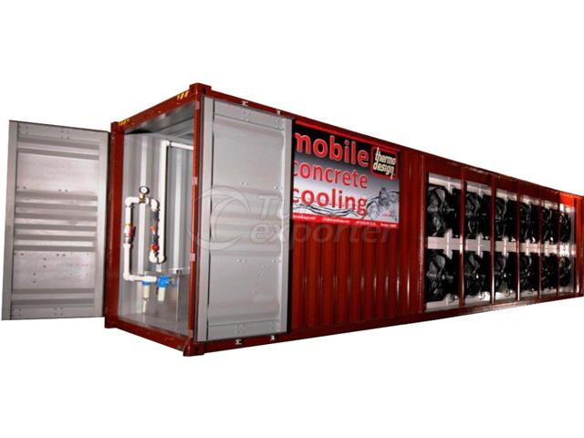 Concrete Cooling Water Chillers