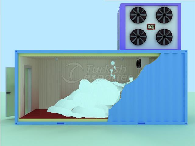 Container Type Flake Ice Machines