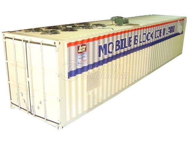 Mobile Block Ice Machines (Brine)