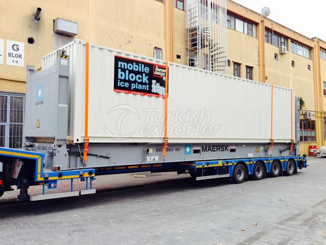 Mobile Block Ice Machines (Press)