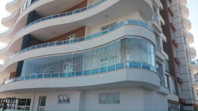 VBS Oval Balcony Glazing