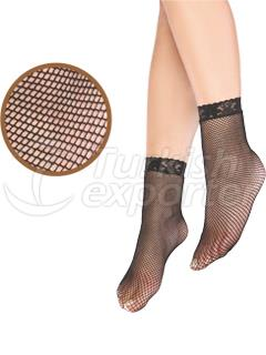 Fishnet Ankle High