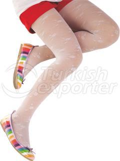 Kids Legging With Daisy Pattern