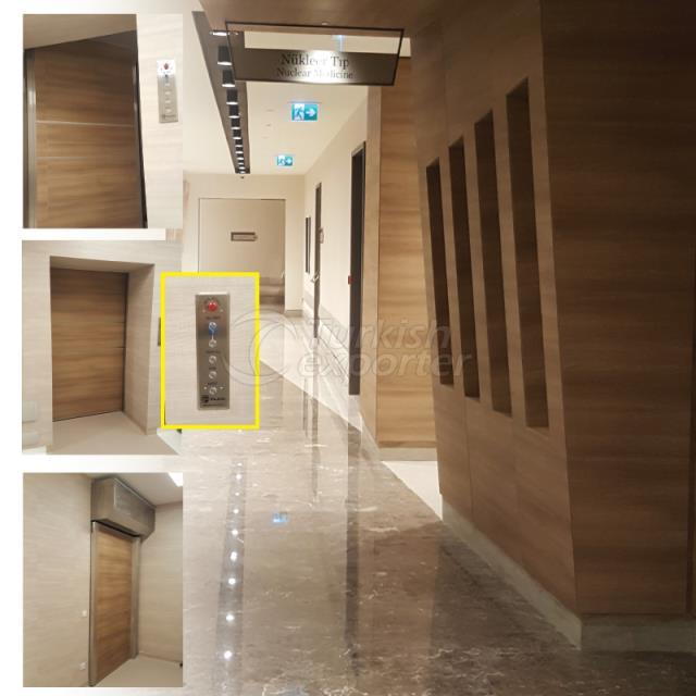 LINAC DOOR-LINAC 2080