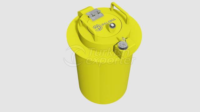 HIGH ENERGY NEEDLE WASTE CONTAINER