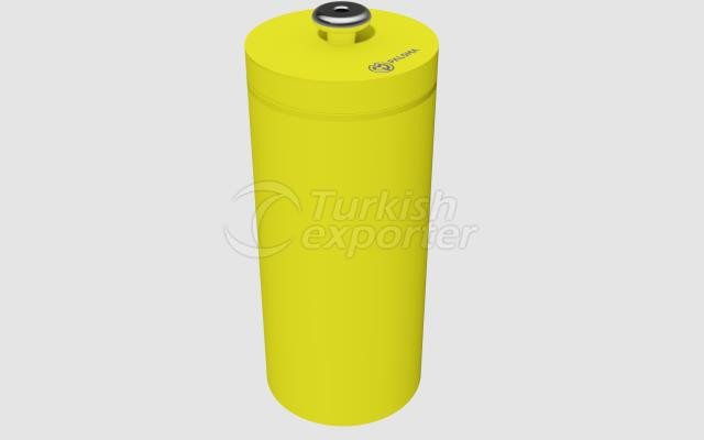 HPLC RADIOACTIVE WASTE CONTAINER