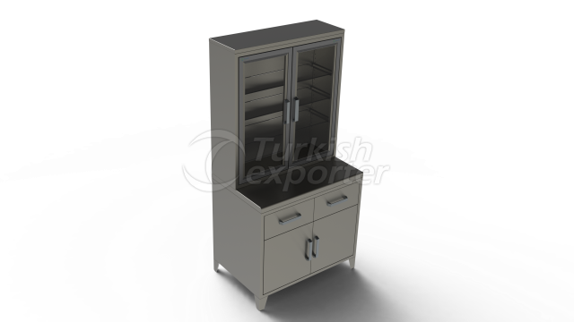 MEDICINE CABINET WİTH DRAWERS