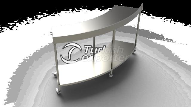 FALCATE UTILITY TABLE - AMP 1100