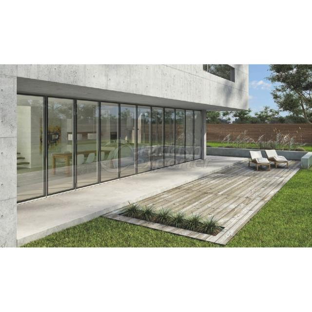 Insulated Foldable Glass Systems