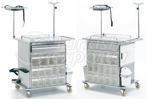 Emergency-Medicine Treatment Cart P-TA-004-1