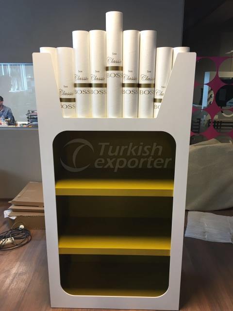 Boss cigarette Stand