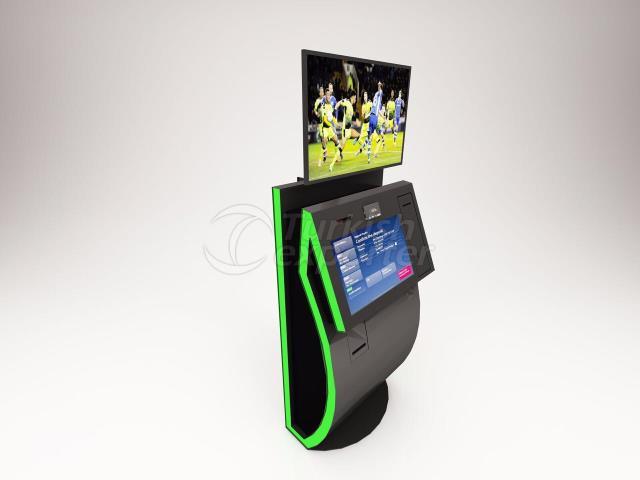 Kiosk stand customized ( Design)