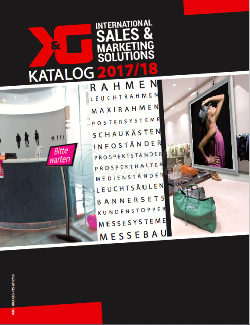 K&G products catalogue 2017- 2018