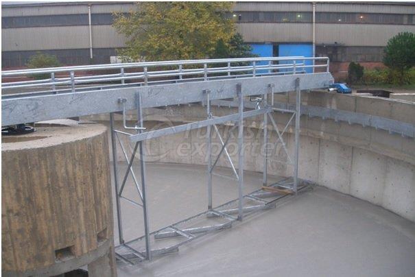 Rotating Bridge Scraper