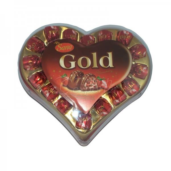 Sana Gold Big Heart 200gr