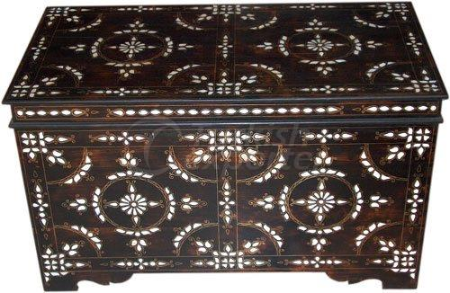 Pearl Inlaid Dowry Chest