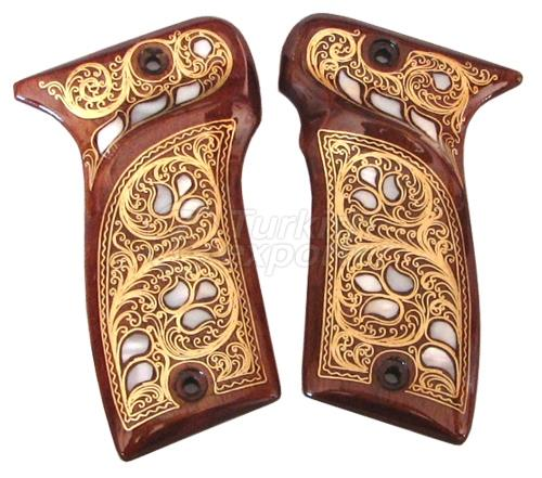 Pearl Embroidered Mab Pistol Grip