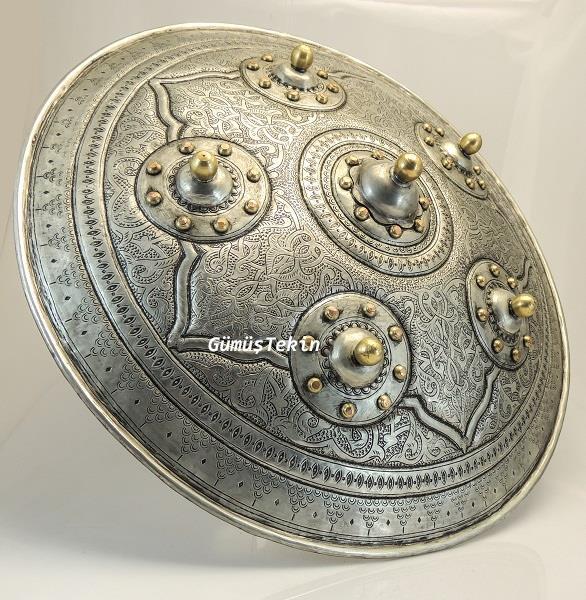 Copper Hand Forging Shield