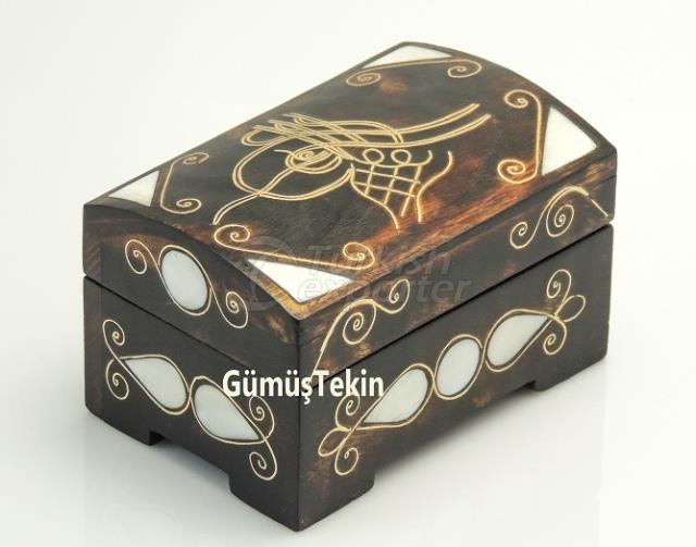 Pearl Inlaid Ottoman Tughra Box