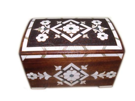 Pearl Embroidered Box