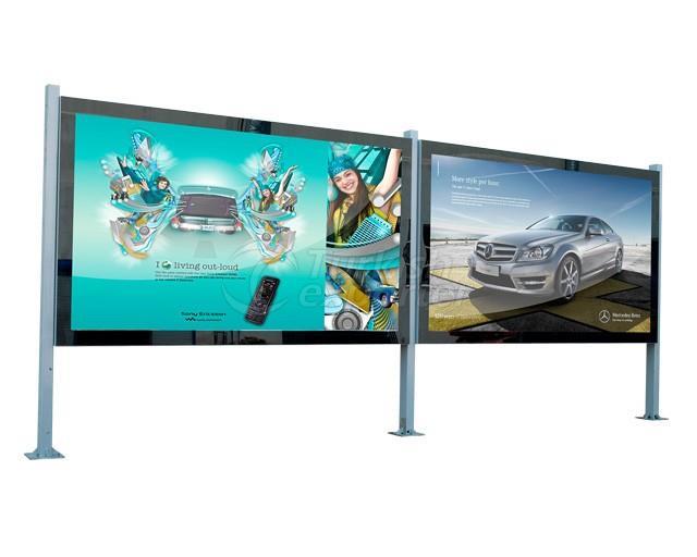 Billboard With Glass