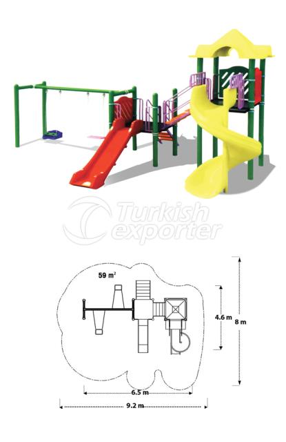 Playground Equipments TOY 03