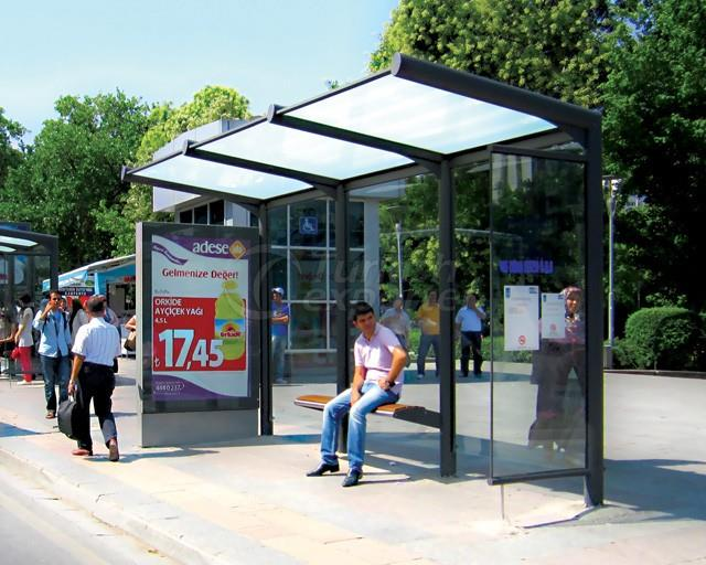 Xenon Bus Shelter