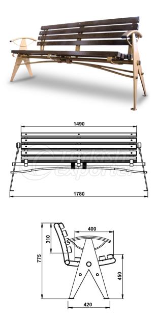 Benches TB 121