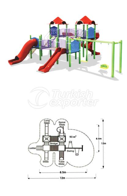 Playground Equipments TOY 08