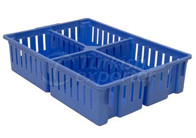 4 Cellular Chick Transport Crates 0402001