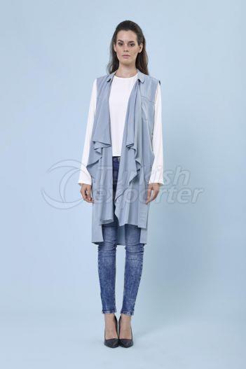 Bulge Neck Vest 1107 Blue
