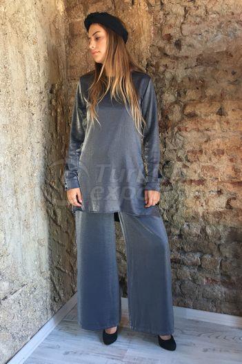 Silvery Blouse Trouser 2301 Black