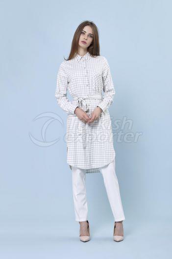 Checkered Shirt 2219 Green