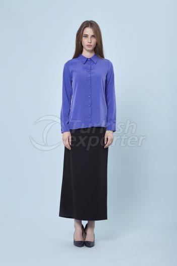Basic Shirt 3119 Indigo