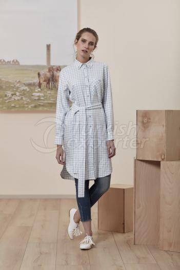 Checkered Shirt 2219 Blue