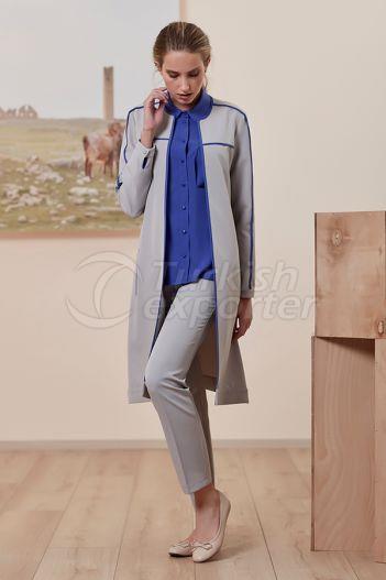 Binded Topcoat 7154 Gray