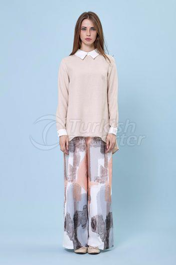 Flared Trousers 5159 Somon
