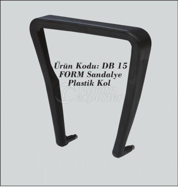 DB15 Form Plastic K